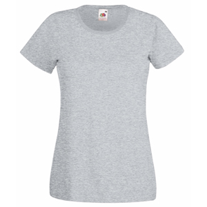"Футболка ""Lady-Fit Valueweight T"", серо-лиловый_XS, 100% х/б, 160 г/м2"