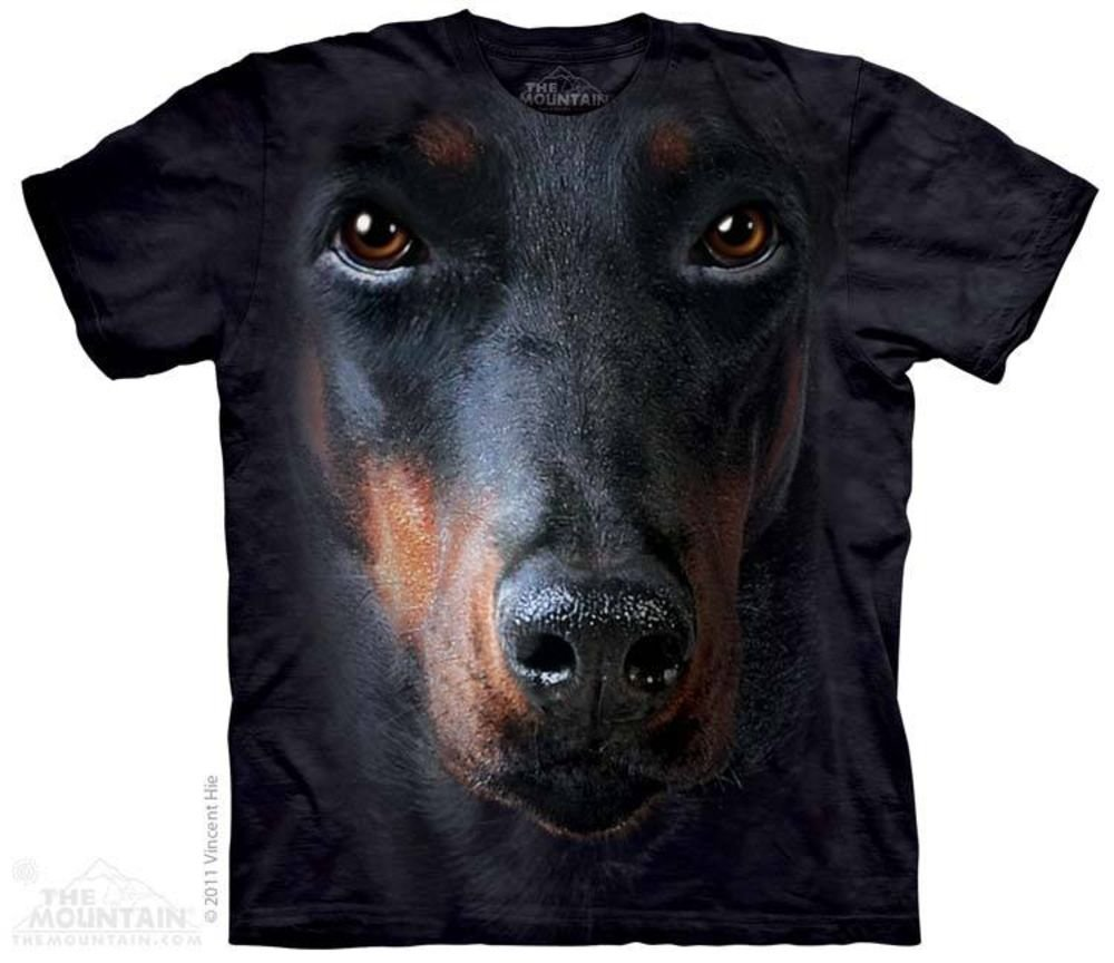 Футболка The Mountain, Doberman Face