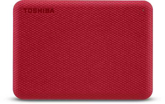 "Жесткий диск Toshiba USB 3.0 2Tb HDTCA20ER3AA Canvio Advance 2.5"" красный"